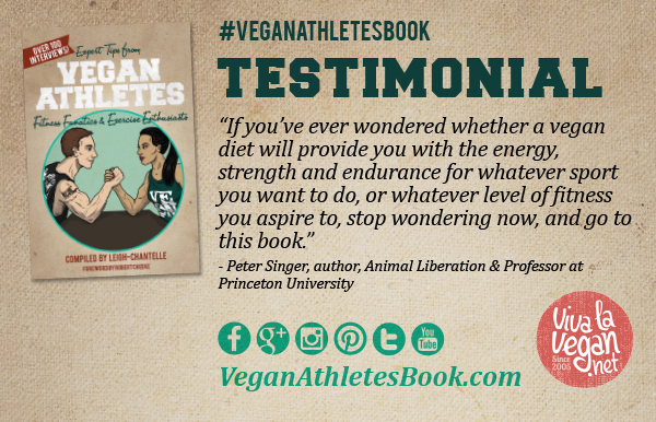 Vegan Athletes Book Testimonial