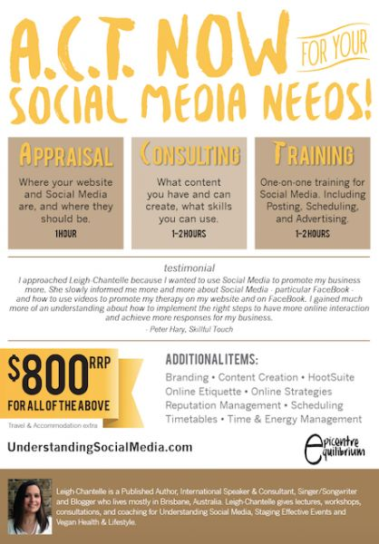 ACT Now for your Social Media Needs