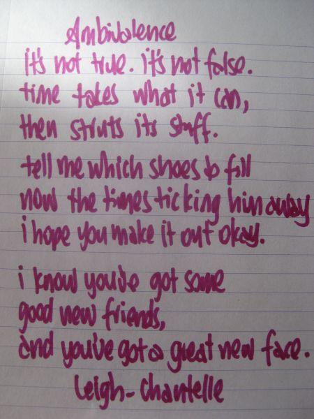 Lyrics to tell me more