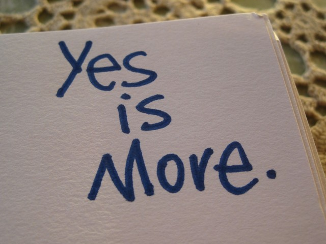 Yes_Is_More