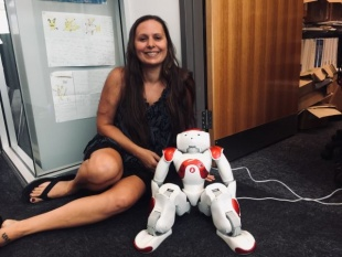 NAO the humanoid social robot with Leigh Chantelle