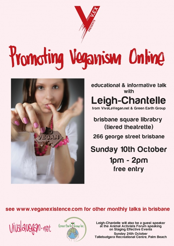 Promoting Veganism Online