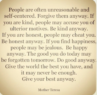 Mother Theresa - Give Your Best