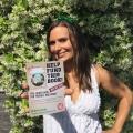 Vegan Athletes Book - postcard