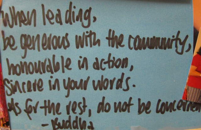 Leigh Chantelle Inspirational Quote For The Week Buddha Leadership